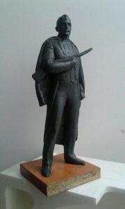 Проєкт пам'ятника Василю Сліпаку від скульптора Анатолія Гайдамаки фото1